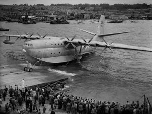 Sanders Roe Princess Flying Boat, August 1952