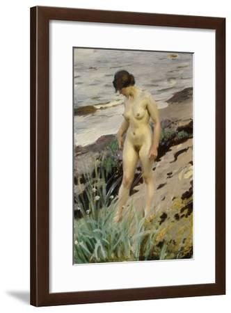 Sandhamn Study-Anders Leonard Zorn-Framed Giclee Print