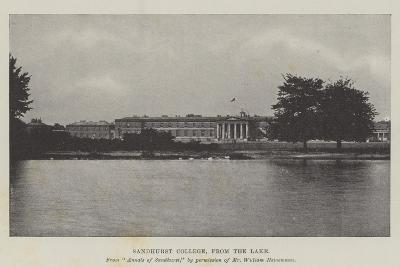 Sandhurst College, from the Lake--Giclee Print