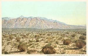 Sandia Mountains, New Mexico