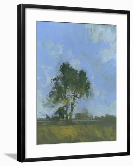Sandlings Dawn-Paul Bailey-Framed Art Print