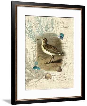 Sandpiper II-Suzanne Nicoll-Framed Giclee Print