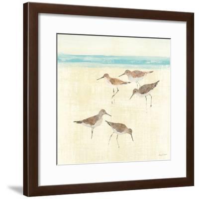 Sandpipers Square II-Avery Tillmon-Framed Art Print