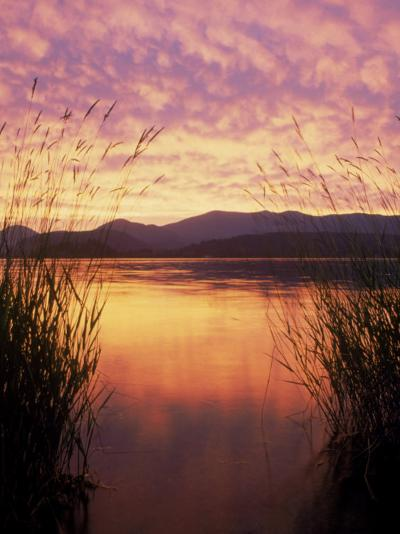 Sandpoint, Id, Sunset on Lake Pond Oreille-Mark Gibson-Photographic Print