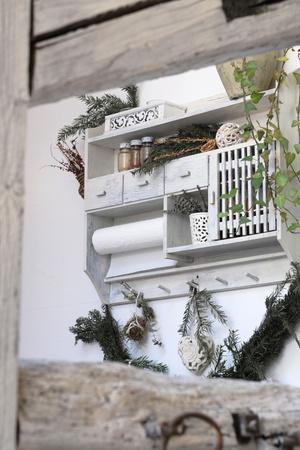 Wall shelf in vintage - still, still life