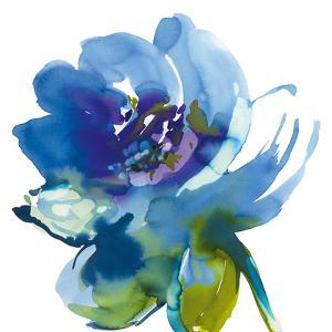 Blue Wash II by Sandra Jacobs