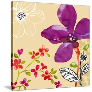 Fun Flowers II by Sandra Jacobs