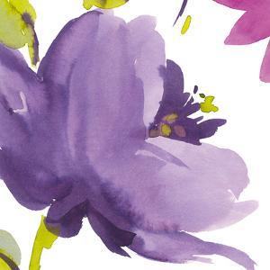 Violet Flower I by Sandra Jacobs