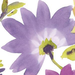Violet Flower II by Sandra Jacobs