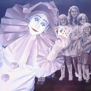 Clown, 1975 by Sandra Lawrence
