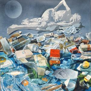 Detritus, 1975 by Sandra Lawrence