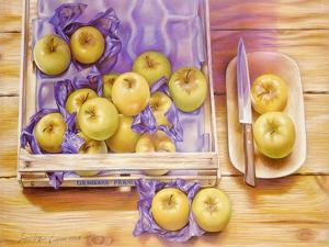 Golden Delicious, 1980 by Sandra Lawrence