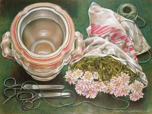 Scissors and String, 1980 by Sandra Lawrence