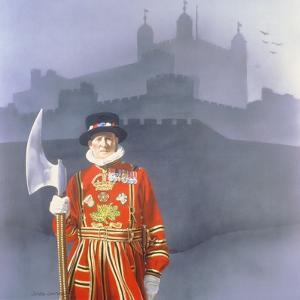 The Yeoman Gaoler, 1977 by Sandra Lawrence
