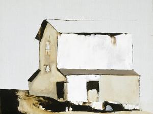 White Barn by Sandra Pratt