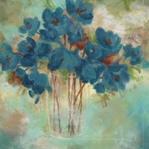 Contemporary Blooms 1 by Sandra Smith