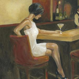 Woman in White 1 by Sandra Smith