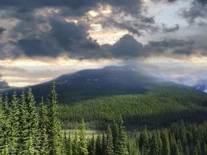 Beautiful View of the Rocky Mountains in Alberta Canada by Sandralise