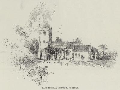 Sandringham Church, Norfolk-Herbert Railton-Giclee Print