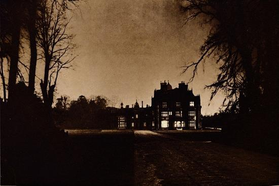 Sandringham House, Norfolk, on the night of King George V's death, 1936-Unknown-Giclee Print