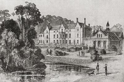 Sandringham House, Sandringham, Norfolk, England in 1862--Giclee Print