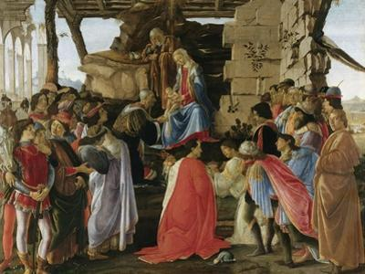 Adoration of the Magi (1475) by Sandro Botticelli