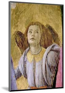 """Angel, from the """"Coronation of the Virgin,"""" circa 1488-90 (Detail) by Sandro Botticelli"""