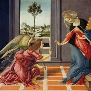 Annunciation, 1489-1490 by Sandro Botticelli