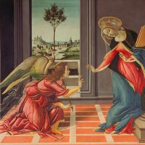 Annunciation Mary of Cestello by Sandro Botticelli