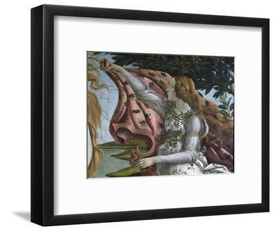Birth of Venus. Detail: Flora. Around 1484