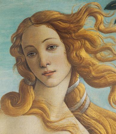 Birth of Venus, Head of Venus