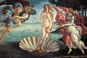 Birth of Venus by Sandro Botticelli