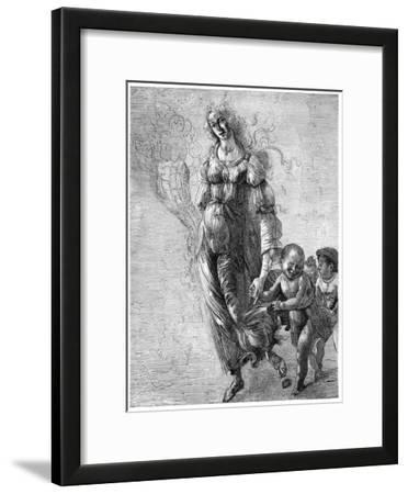Botticelli's 'Abundance, 1882