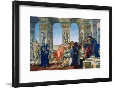 Calumny of Apelles, 1497-1498