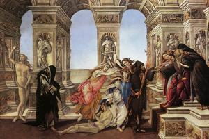Calumny of Appeles by Sandro Botticelli