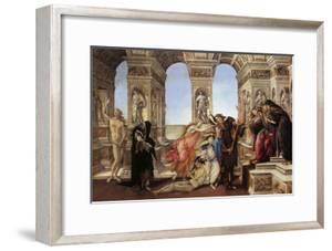 Calumny of Appeles by Sandro Botticelli