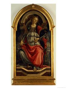 Fortitude 1470 by Sandro Botticelli