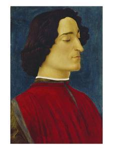 Giuliano De' Medici (1453-1478), about 1478 by Sandro Botticelli