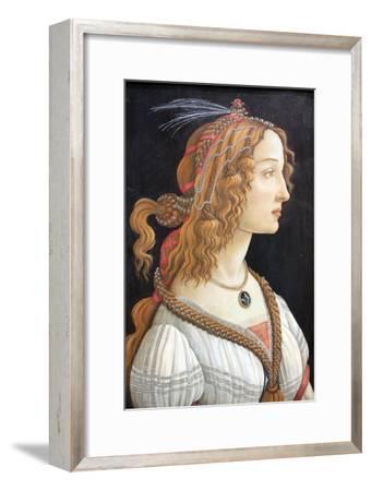 Idealized Portrait of a Lady (Portrait of Simonetta Vespucc), C. 1480