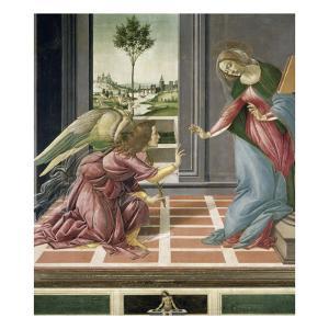 L'Annonciation by Sandro Botticelli