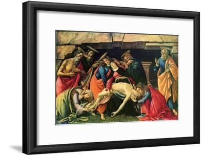 Lamentation over the Dead Christ, 1490-1492
