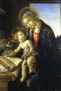 Madonna and Child (Madonna of the Book), 1483 by Sandro Botticelli