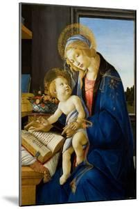 Madonna of the Book (Madonna Del Libr), 1480 by Sandro Botticelli