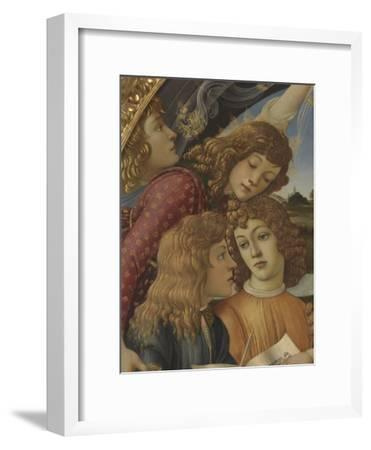 Madonna with Child and Five Angels (Madonna Del Magnificat)