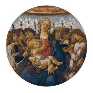 Madonna with Child and Singing Angels, about 1477 by Sandro Botticelli
