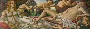 Mars and Venus, c1485, (1911) by Sandro Botticelli
