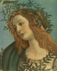 Minerva (detail) by Sandro Botticelli