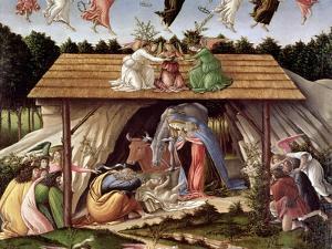 Mystic Nativity, 1500 by Sandro Botticelli