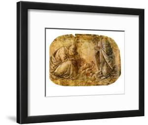 Nativity of Christ by Botticelli by Sandro Botticelli