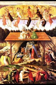Nativity by Sandro Botticelli